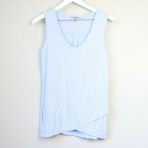 Athleta Activewear Light Blue Sleeveless Top
